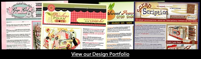 custom blog design, graphic design for scrapbooking businesses papercrafting website bradford web designs terri web designer portfolio