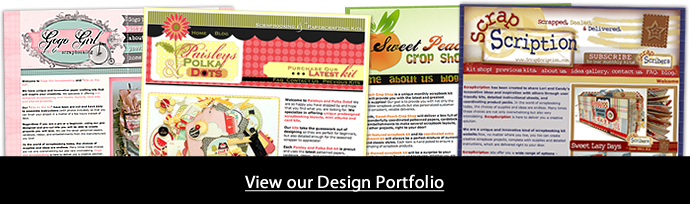 Scrapbook Logo Scrapbook Kit Club Website Design Bradford Web Designs