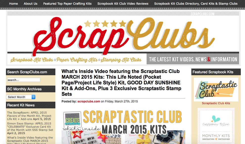 BradfordWebDesigns.com: Custom Wordpress Genesis Design Theme Scrapbook Website