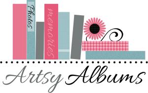 BradfordWebDesigns.com: www.ArtsyAlbums.com Scrapbook Logo Design